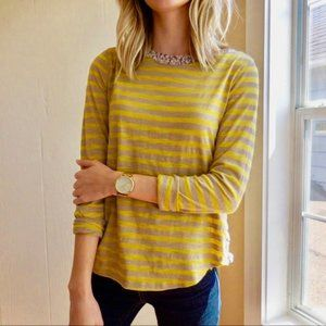 {Postmark} Laurelwood Striped Boatneck Tee